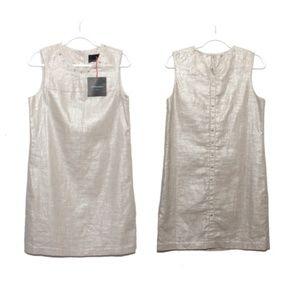 NEW Cynthia Rowley Sleeveless shift dress, 12